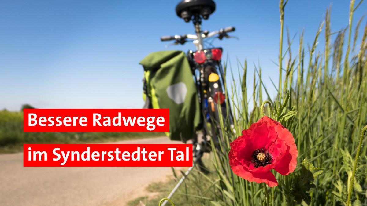 Neue Radwege bei Blankenhain Obersynderstedt Niedersynderstedt